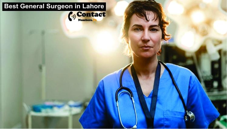 best general surgeon in lahore