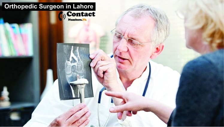 orthopedic surgeon in lahore