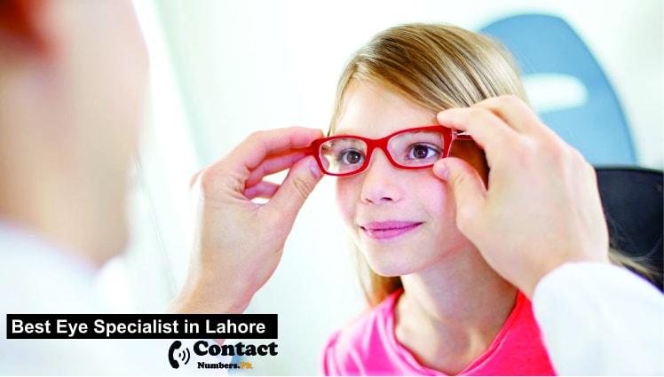 best eye specialist in lahore
