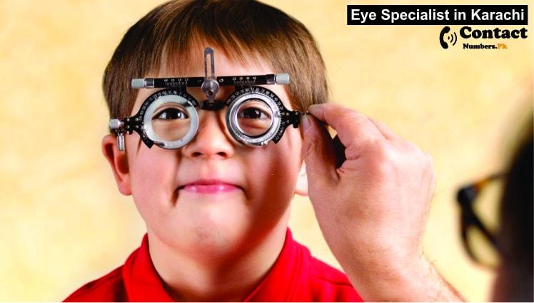 eye specialist in karachi