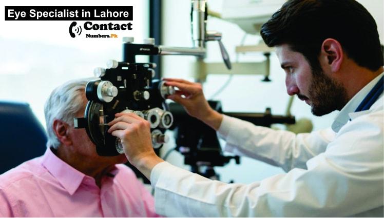 eye specialist in lahore