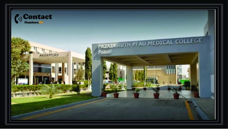 fazaia ruth medical college