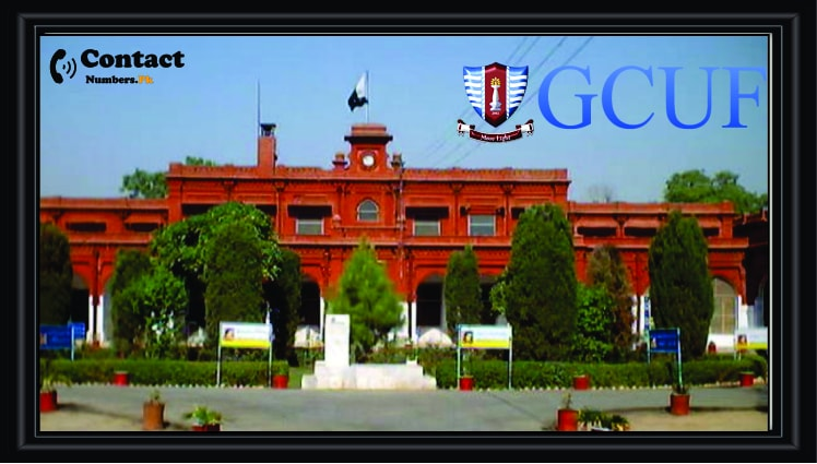 gcuf govt college university faisalabad