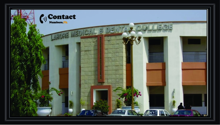 lmdc lahore medical and dental college