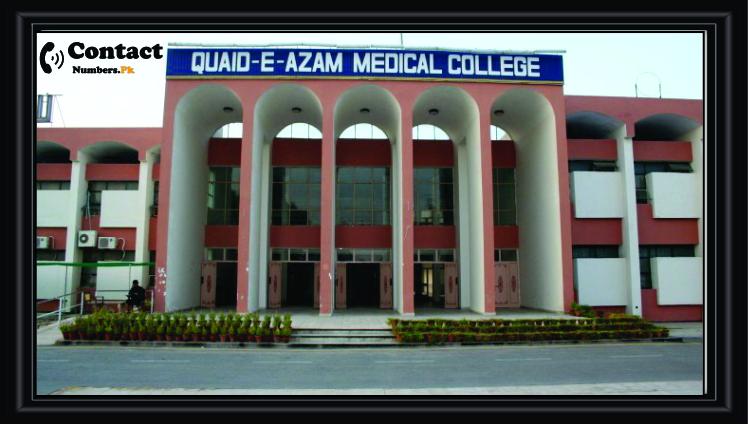 quaid-e-azam medical college