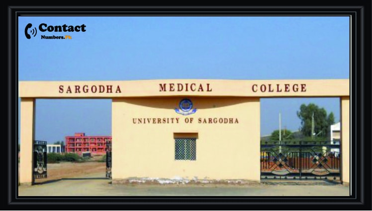 Sargodha Medical College Contact Number Address Admission