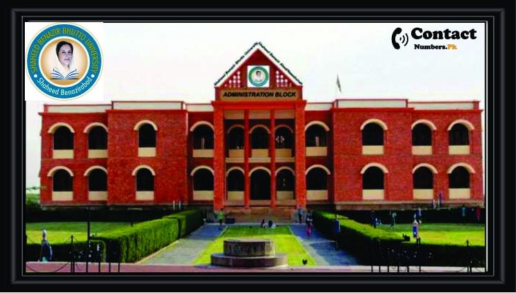 shaheed benazir bhutto university sbbusb