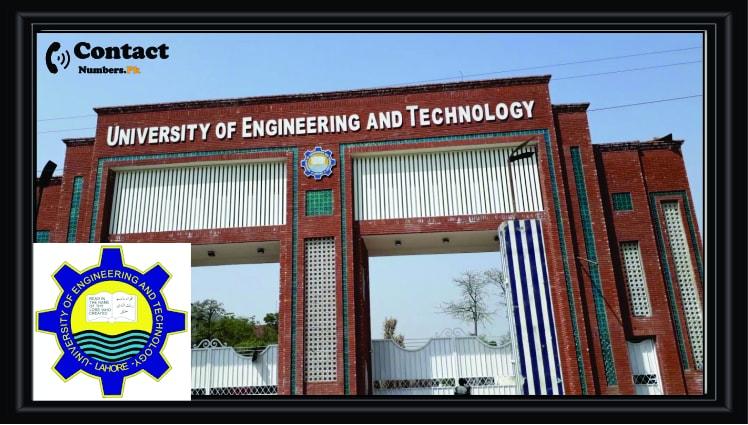 uet lahore university of engineering techonolgy