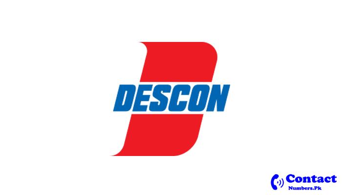 descon head office helpline number