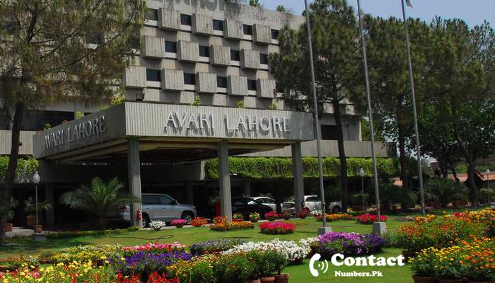 avari hotel lahore contact number