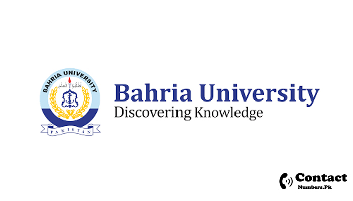 bahria university contact number