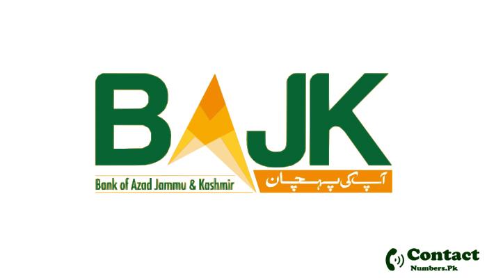bank of ajk helpline number
