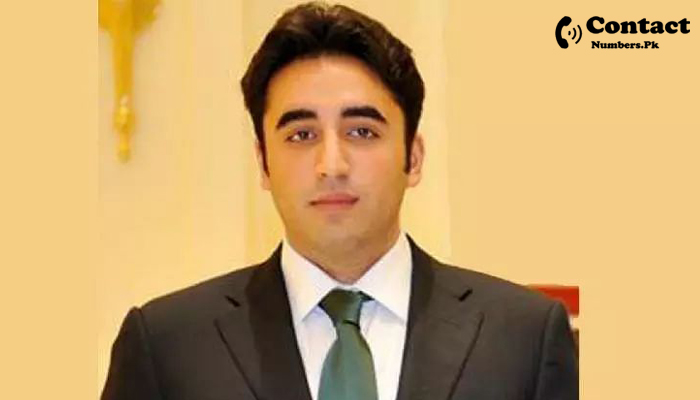 bilawal bhutto zardari contact number
