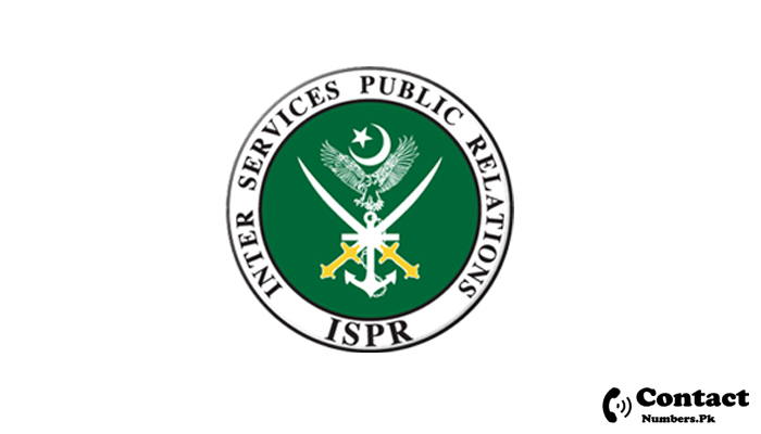 ispr helpline number