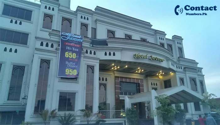 javson hotel sialkot contact number