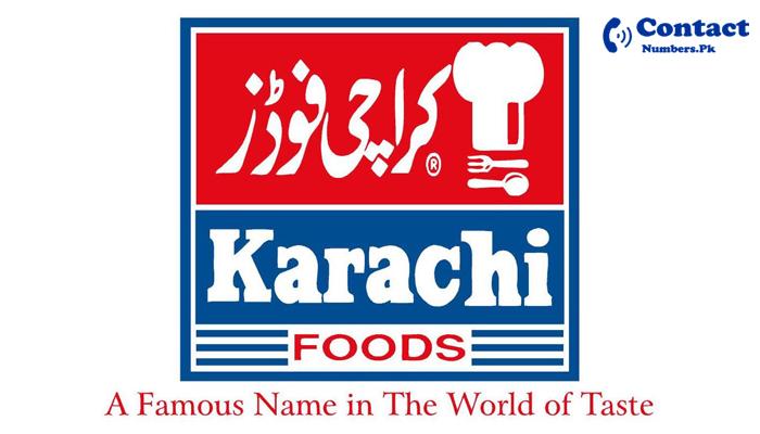 karachi foods contact number
