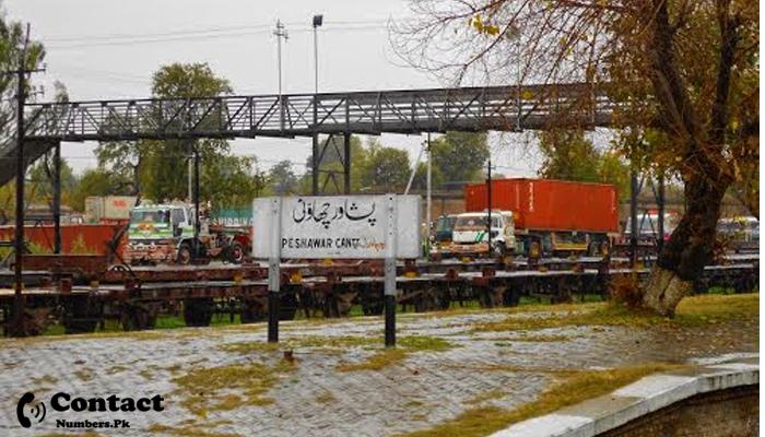 peshawar railway station contact number