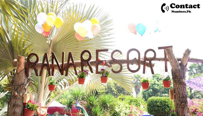 rana resort contact number