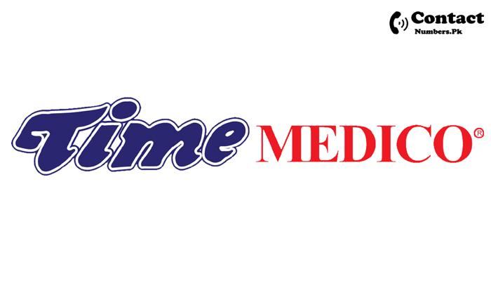 time medico karachi contact number