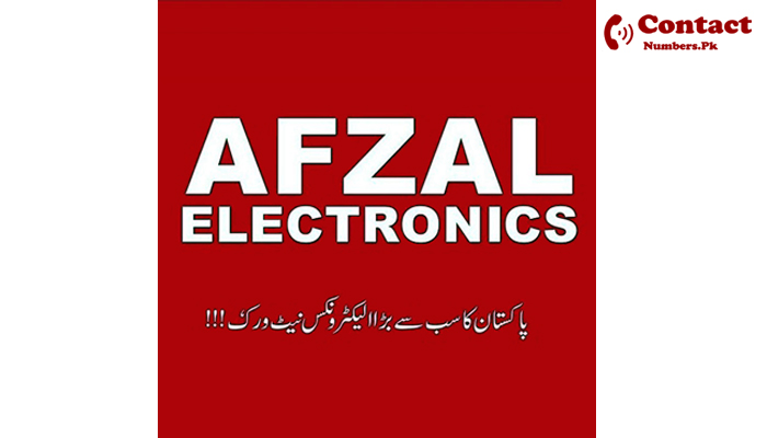 afzal electronics rawalpindi contact number