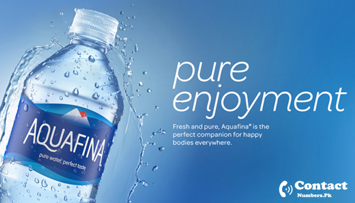 aquafina water contact number
