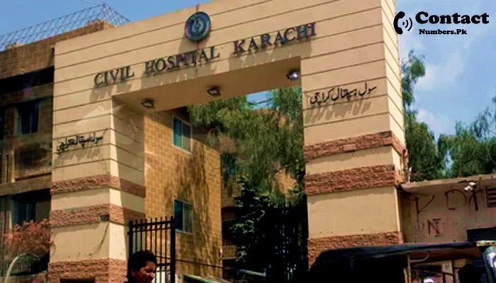 civil hospital karachi contact number