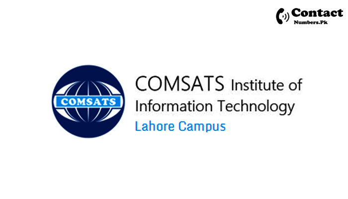 comsats university lahore contact number