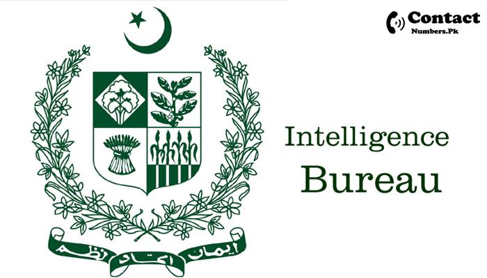 intelligence bureau pakistan contact number