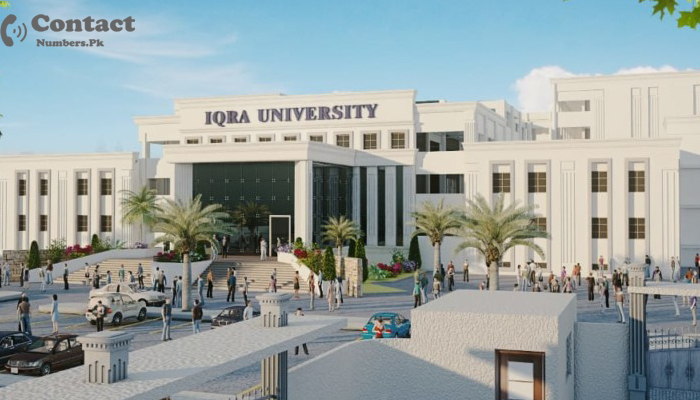 iqra university gulshan campus contact number