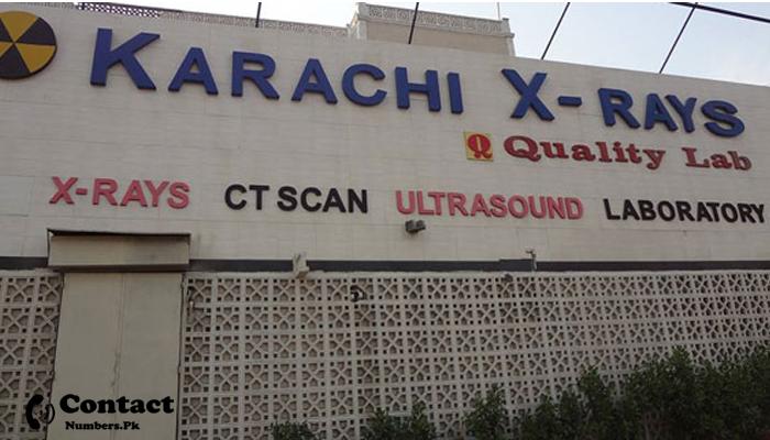karachi x ray contact number