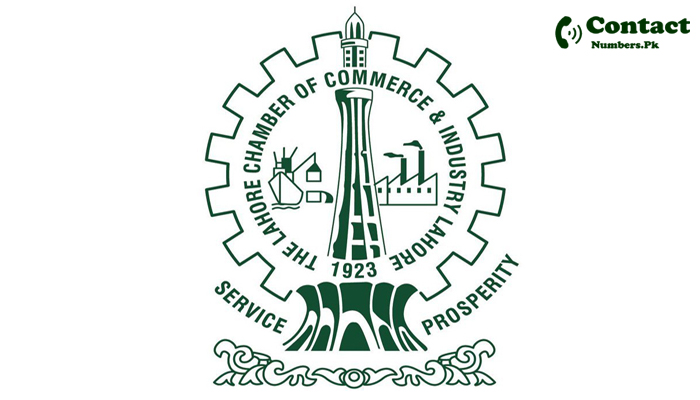 lahore chamber of commerce contact number