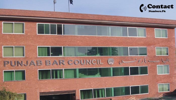 punjab bar council contact number