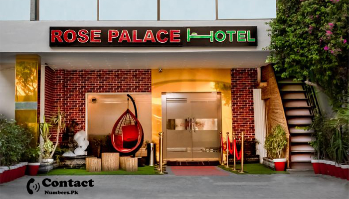 rose palace hotel lahore contact number