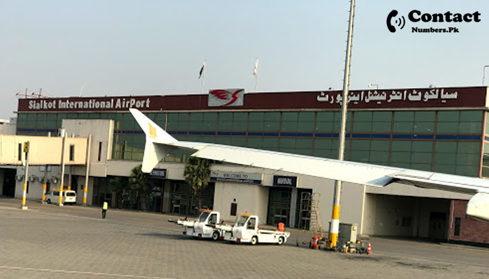 sialkot airport contact number