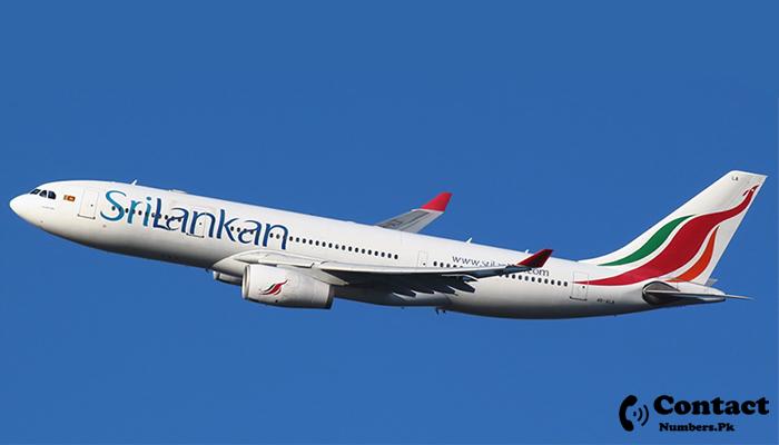 srilankan airline karachi contact number