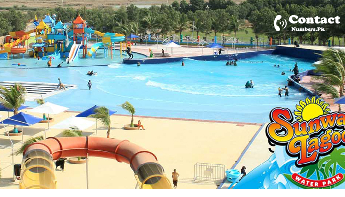 sunway lagoon water park karachi contact number