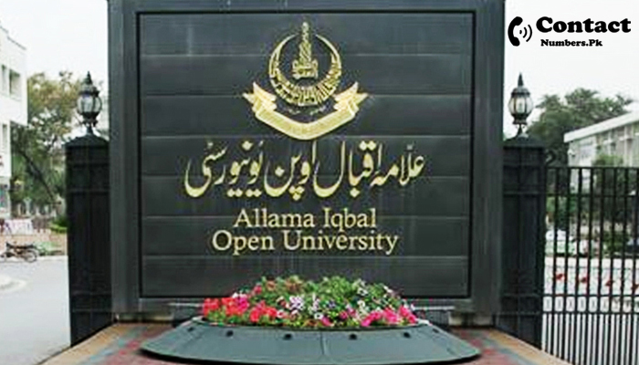 aiou gujranwala campus contact number