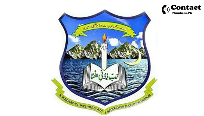 ajk bise contact number