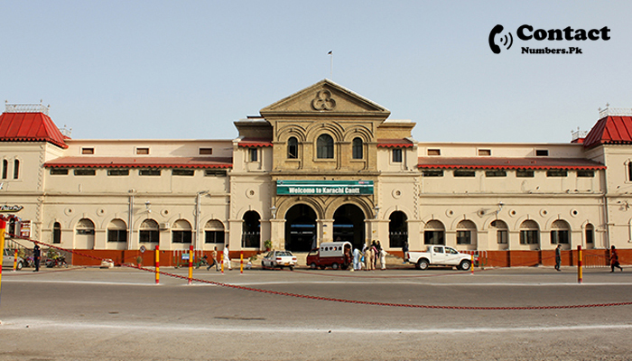 cantt station karachi contact number