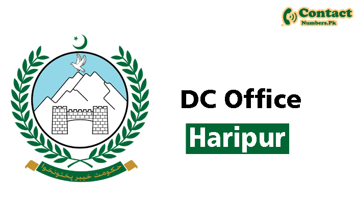 dc haripur contact number