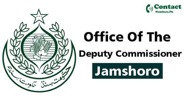 dc jamshoro contact number