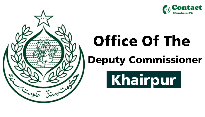 dc khairpur contact number