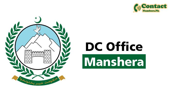 dc manshera contact number