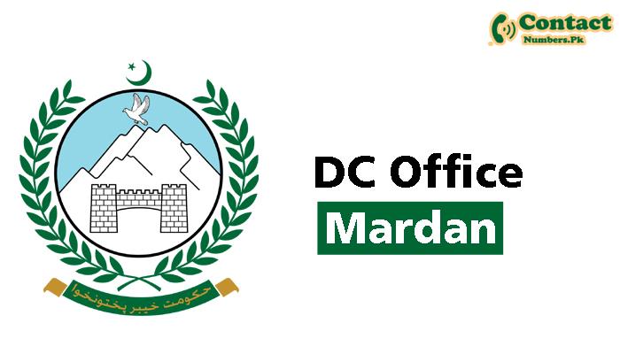 dc mardan contact number