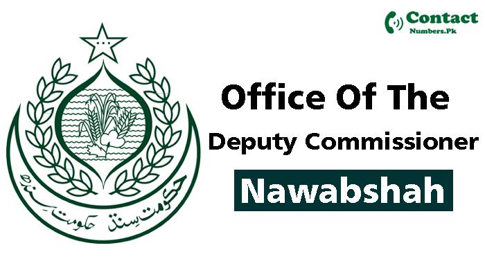 dc shaheed benazirabad contact number