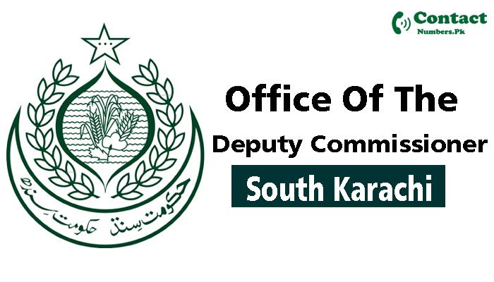 dc south karachi contact number