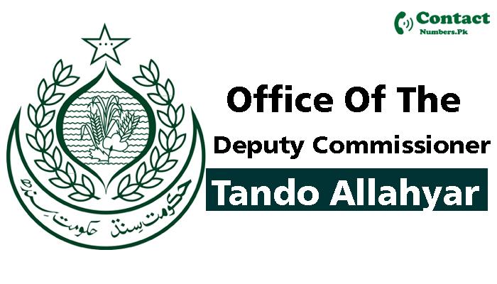 dc tando allahyar contact number