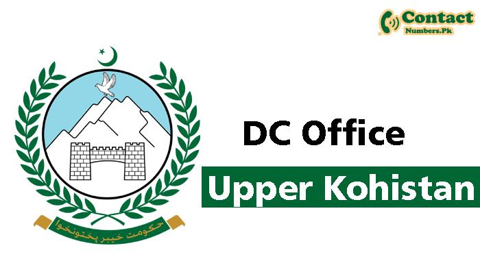 dc upper kohistan contact number