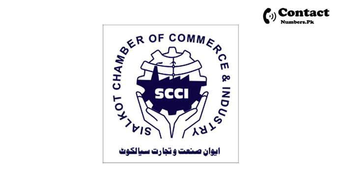sialkot chamber of commerce contact number