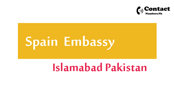 spain embassy islamabad contact number